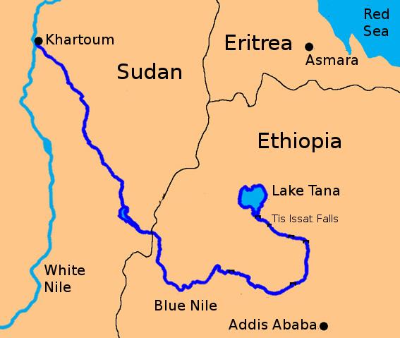 the blue nile of egypt