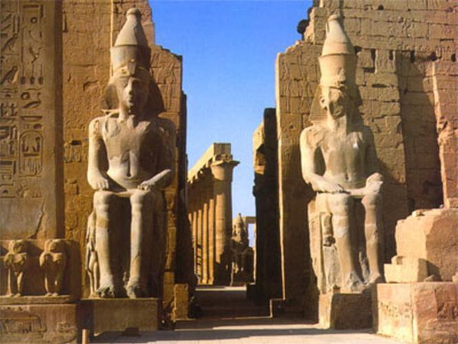 Долина царей в Фивах - столице Верхнего Египта